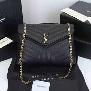 """💞YSL LOULOU TOY BAG IN MATELASSÉ """"Y"""" LEATHER💞"""